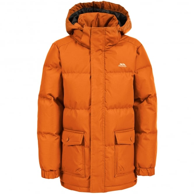 Trespass Boys Marcel Insulated Jacket Carrot