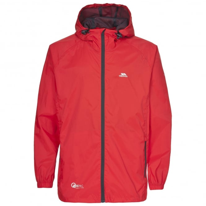 Trespass Boys Qikpac Jacket Grenadine