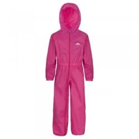 Button All-in-1 Rain Suit Gerbera