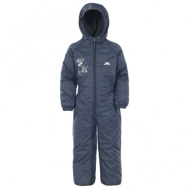 Trespass DripDrop All-in-1 Rain Suit Navy