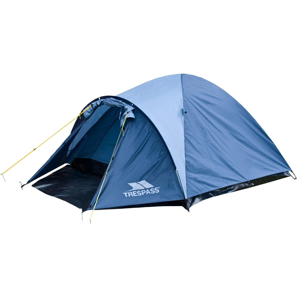 Ghabhar 4 Man Tent Dolphin  sc 1 st  Great Outdoors & Trespass Ghabhar 4 Man Tent Dolphin - Camping Equipment from Great ...