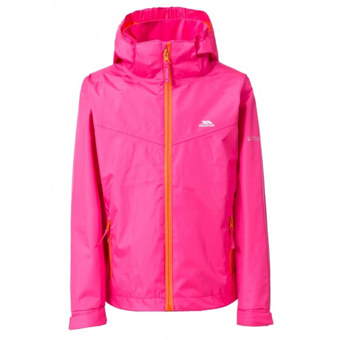 Trespass Girls Chevy Jacket Fuchsia