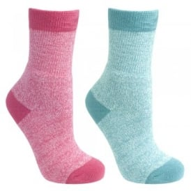 Girls Confess 2 Pack Sock Assorted