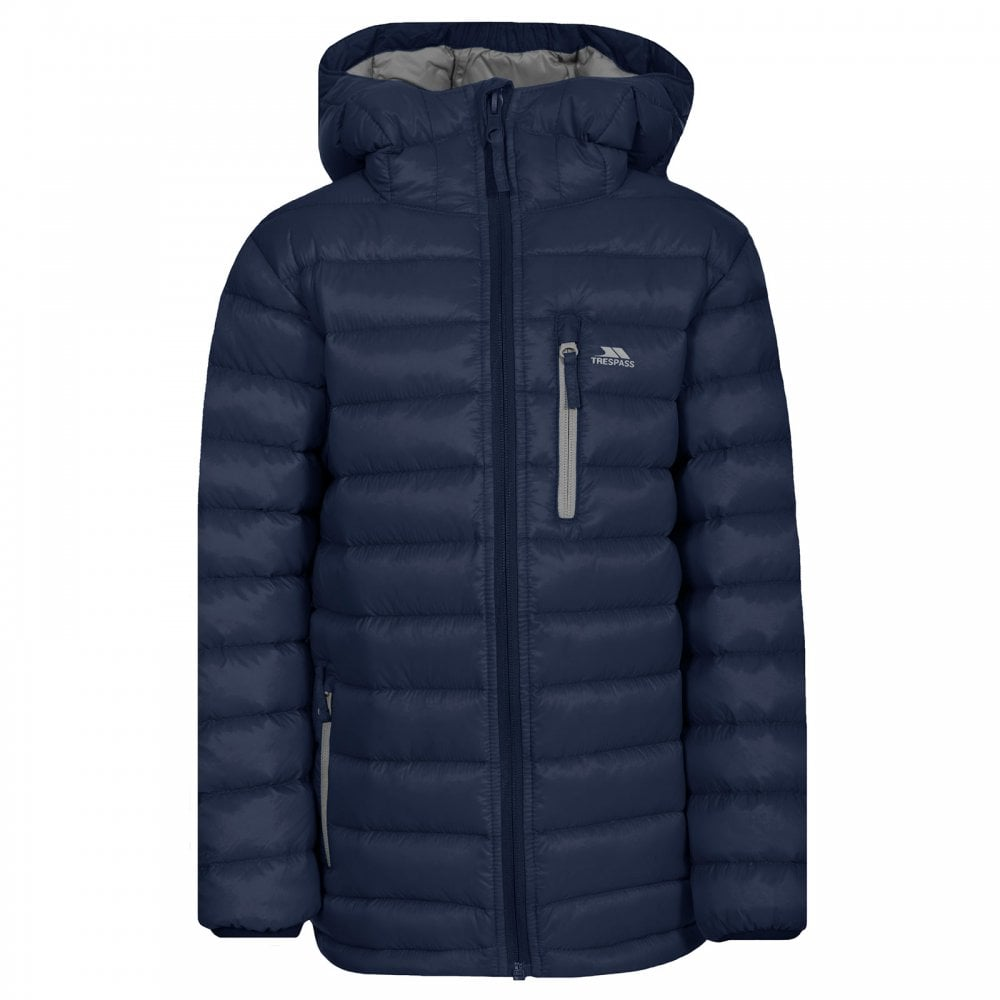 5381a5233 Trespass Girls Morley Jacket Navy - Kids from Great Outdoors UK