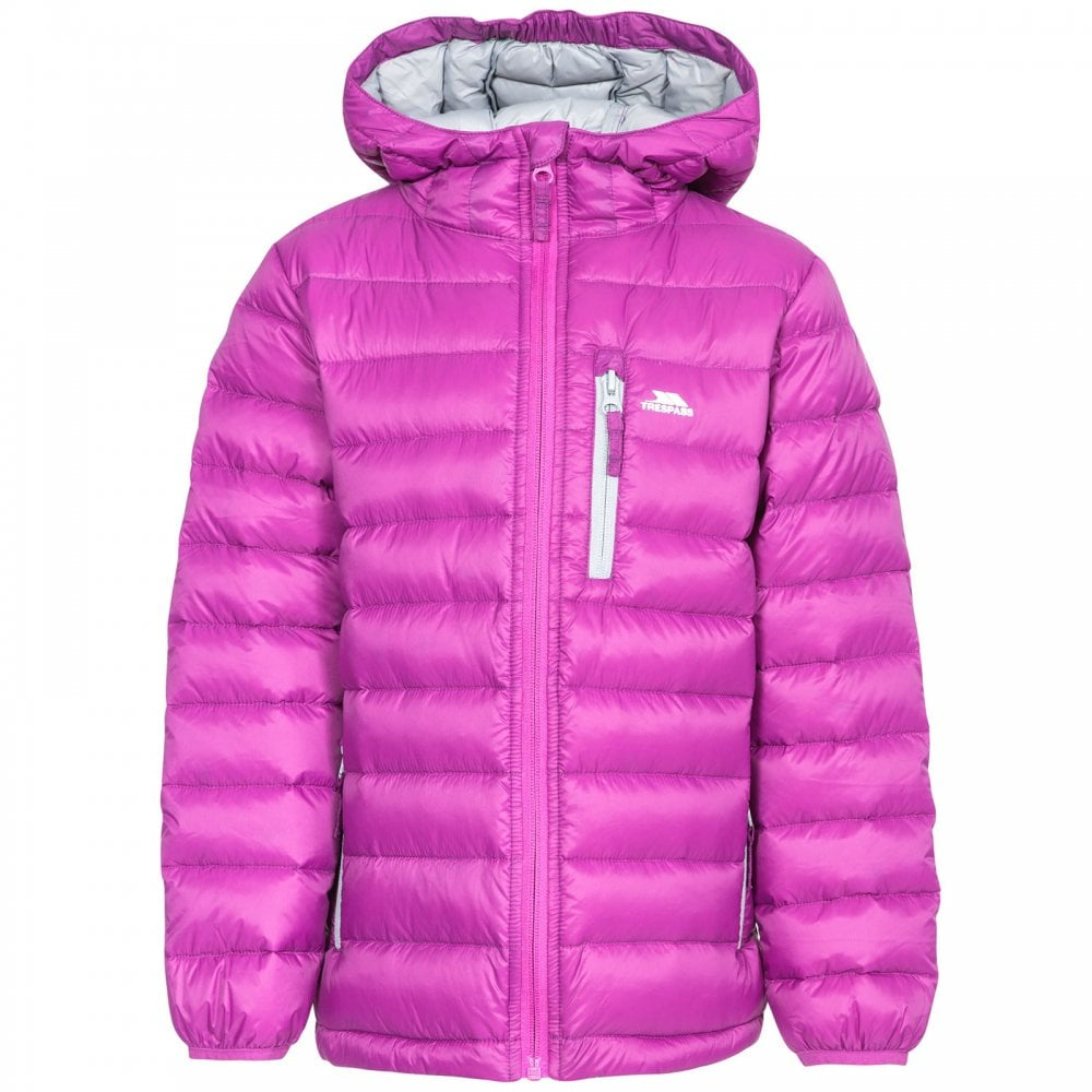 a090e5a12 Trespass Girls Morley Jacket Purple Orchid - Kids from Great Outdoors UK