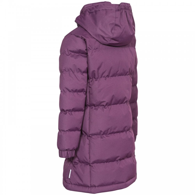 Trespass Girls Tiify Long Coat Potent Purple - Kids from Great ... 5e9e09e4bb34