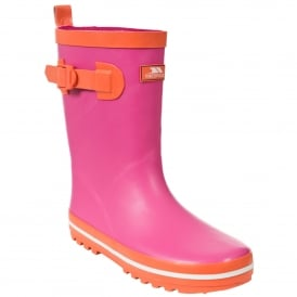 Girls Trumpet Wellie Fuchsia