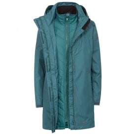 Ladies Alissa II 3 in 1 Jacket Teal