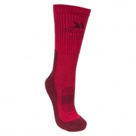 Ladies Bayton Sock Cerise