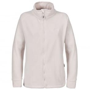 Ladies Cream Fleece Jacket   Jackets Review