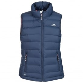 Ladies Corrina Down Gilet Airforce Blue