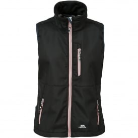 Ladies Eastmain Softshell Gilet Black