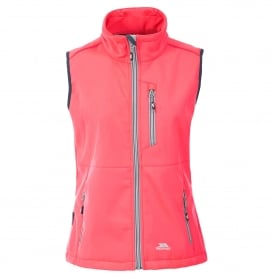 Ladies Eastmain Softshell Gilet Diva Pink