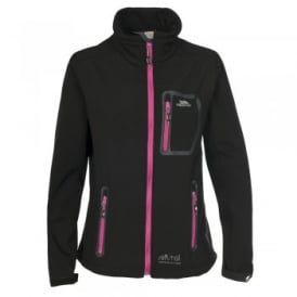 Ladies Homelake Softshell Jacket Black