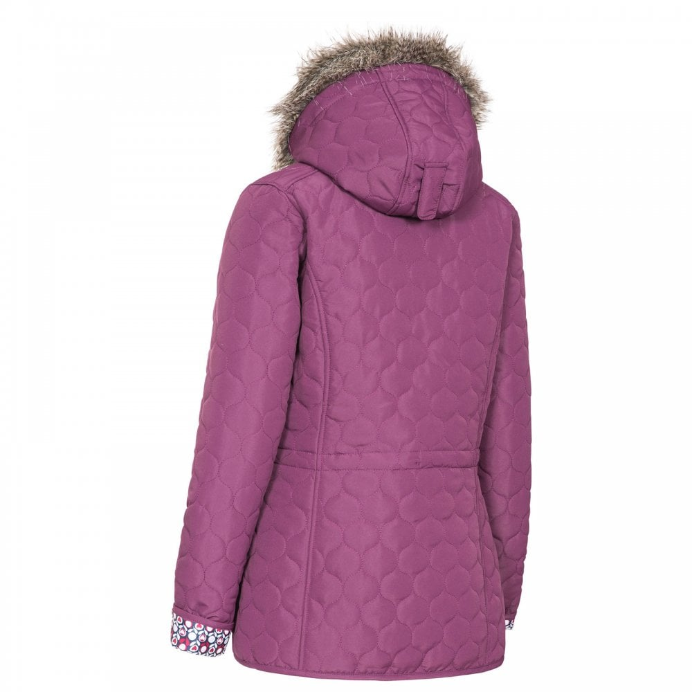 d6acd864906e6 Trespass Ladies Jenna Quilt Jacket Blackberry - Ladies from Great ...