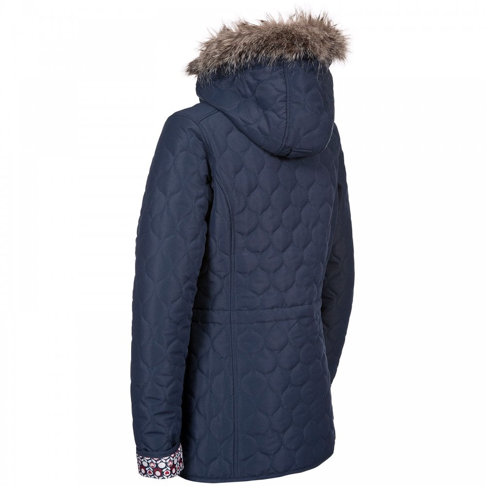57ed57b56e42a Trespass Ladies Jenna Quilt Jacket Navy - Ladies from Great Outdoors UK