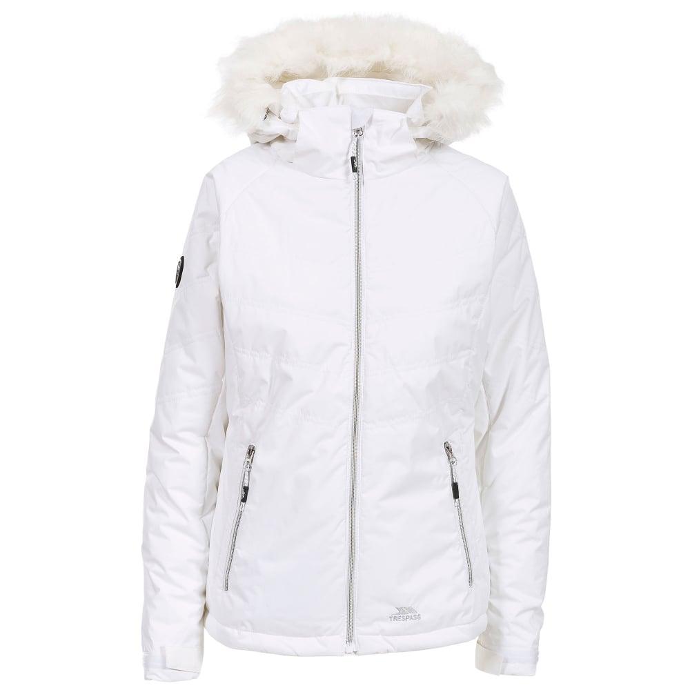 scarpe a buon mercato grande collezione sconto fino al 60% Trespass Ladies Jolie Jacket White - Ladies from Great Outdoors UK