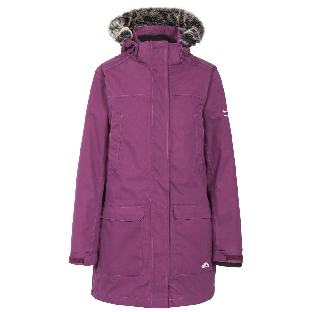 up-to-datestyling variety styles of 2019 size 7 Ladies Maebell 3 in 1 Jacket Blackberry