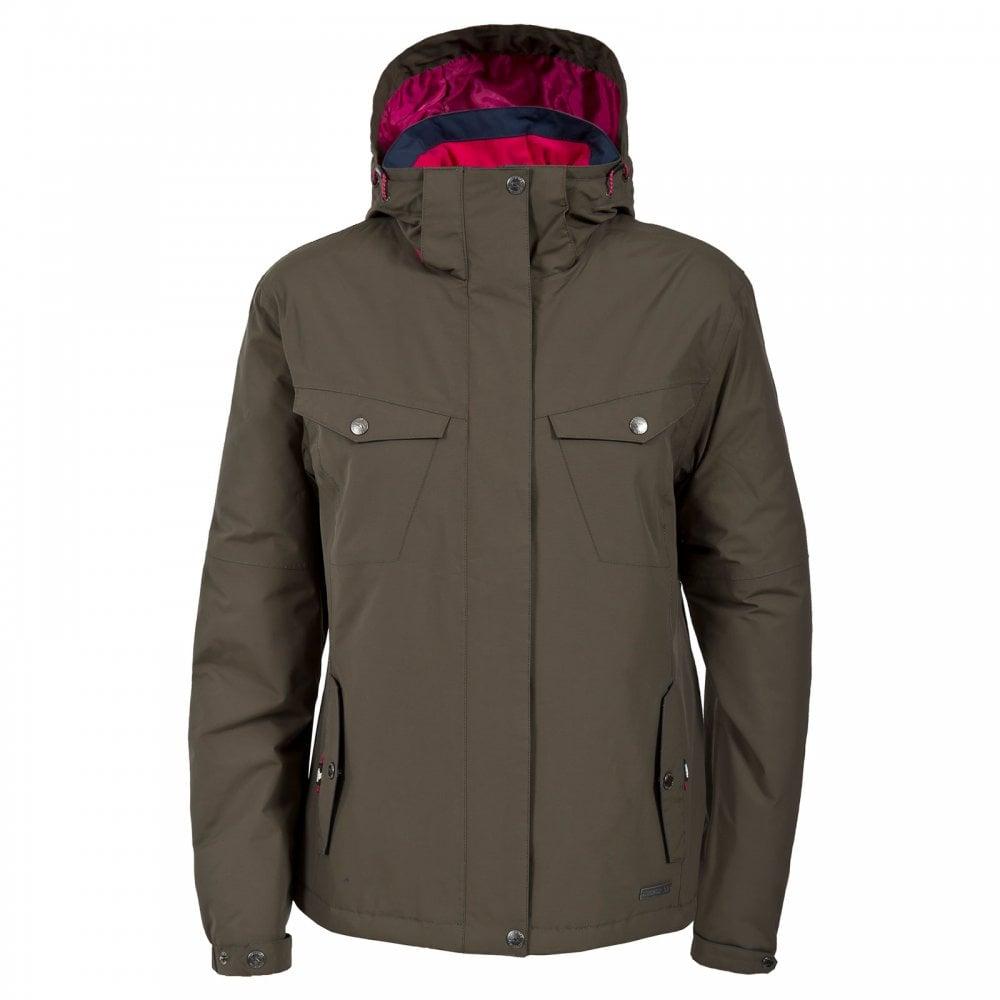 9e7023bef50 Ladies Malissa Insulated Jacket Khaki