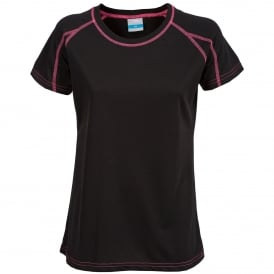 Ladies Mamo T-Shirt Black