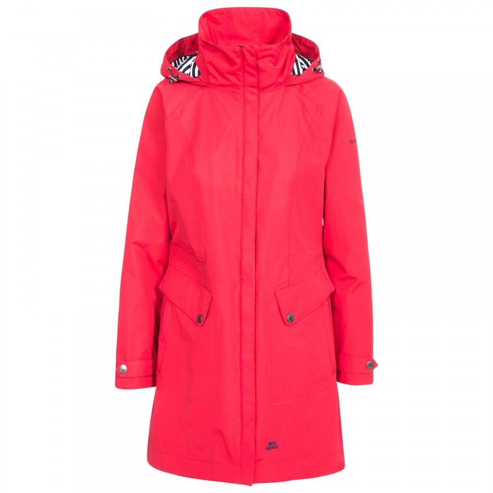 5bca5dd4f2f Ladies Rainy Day Jacket Red