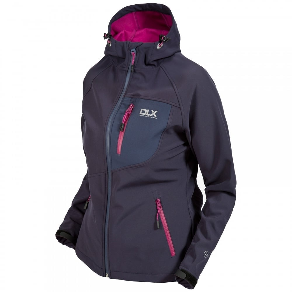 c3f312ddb4 Trespass Ladies Ronda Softshell Jacket Ink - Ladies from Great ...
