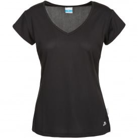 Ladies Sarris T-Shirt Black