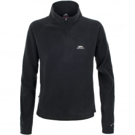 Ladies Shiner Overhead Fleece Black