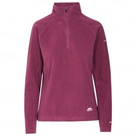 Ladies Shiner Overhead Fleece Blackberry