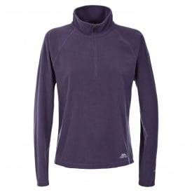 Ladies Shiner Overhead Fleece Blackcurrant