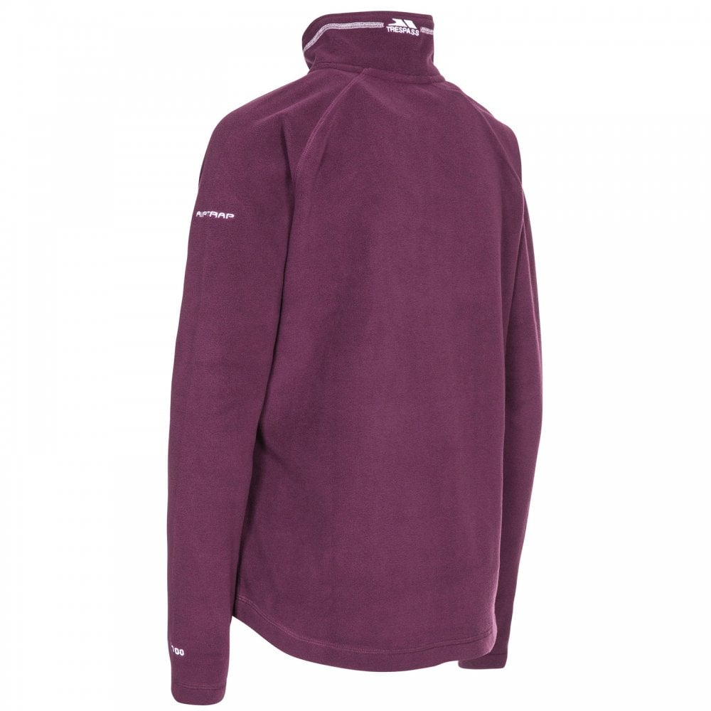 47b50fe6a Trespass Ladies Skylar Fleece Potent Purple