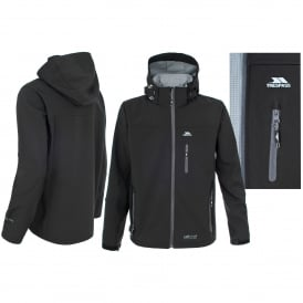 Mens Accelerator II Softshell Black