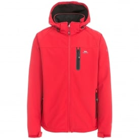 Mens Accelerator II Softshell Red