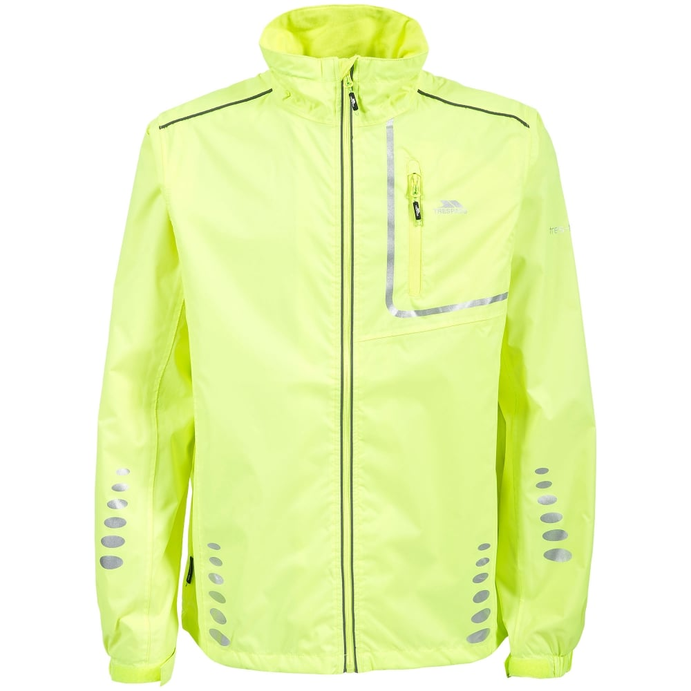 Trespass Mens Axle Bike Jacket Hi Viz Yellow - Mens from Great ... 14cf35dc3