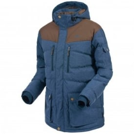 Mens Bank Insulated Jacket Denim