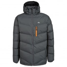 Mens Blustery Insulated Coat Ash