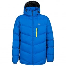 Mens Blustery Insulated Coat Electric Blue