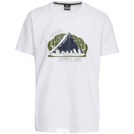 Mens Camp T-Shirt White