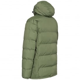 Mens Clip Padded Jacket Moss