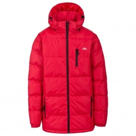 Mens Clip Padded Jacket Red