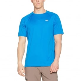 Mens Debase T-Shirt Bright Blue