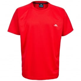 Mens Debase T-Shirt Red