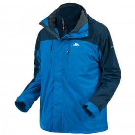 Mens Faris 3 in 1 Jacket Electric Blue