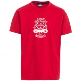 Mens Heron T-Shirt Red