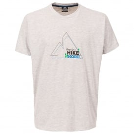 Mens Luzon T-Shirt Grey