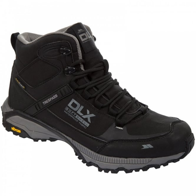 Trespass Mens Renton Softshell Boot Black Footwear From