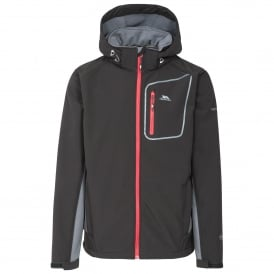 Mens Strathy II Softshell Jacket Black