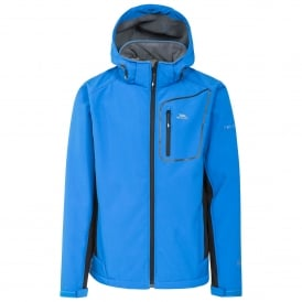 Mens Strathy II Softshell Jacket Blue