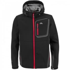 Mens Strathy Softshell Jacket Black