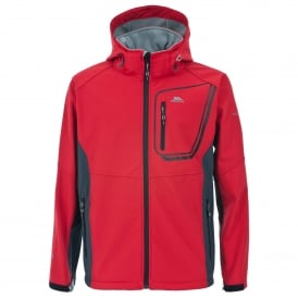 Mens Strathy Softshell Jacket Red